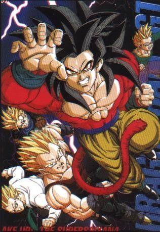 Gt Sangoku Dragon Ball Gogeta Goku Z